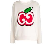 Sweatshirt mit GG-Apfel