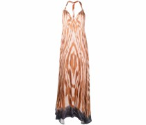 Maxikleid im Batik-Look