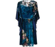 floral devoré dress