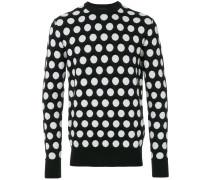 Gepunktetes Sweatshirt