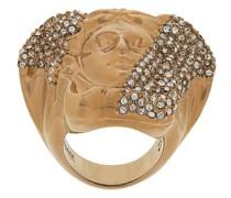'Medusa' Ring mit Kristallen