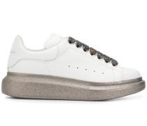 'Oversized' Sneakers mit Glitter