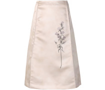 Chinoise floral skirt