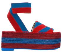 Sandalen mit Streifen - women
