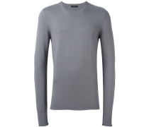 Pullover mit extra-langen Ärmeln