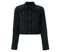 Jeansjacke mit Knopfleiste - women - Baumwolle