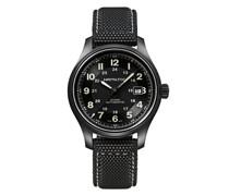 'Khaki Field Titanium' Armbanduhr, 42mm