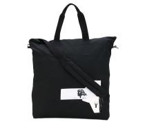 patches shopping bag - unisex - Baumwolle/Nylon