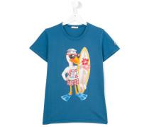 T-Shirt mit Enten-Print - kids - Baumwolle - 14