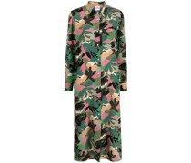 Hemdkleid mit Camouflage-Print