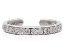 Ear Cuff aus 18kt mit Diamanten