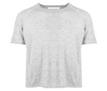 short-sleeve cashmere jumper