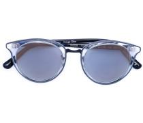 Sonnenbrille in Cat-Eye-Optik