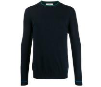 Pullover mit Kontrastpaspeln