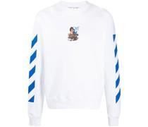 Sweatshirt mit Caravaggio-Print