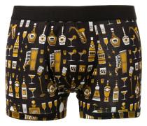 """- Shorts mit """"Bottles Jazz""""-Print - men"""