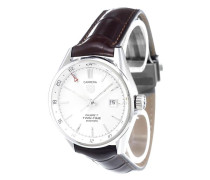 'Carrera Calibre 7 Twin-Time' analog watch