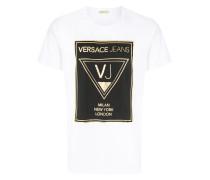 """T-Shirt mit """"VJ""""-Print"""