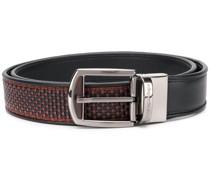 woven-panel belt
