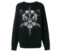Sweatshirt mi Panther-Print