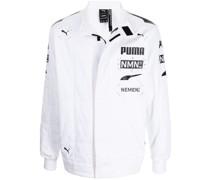 x Nemen zip-up racing jacket