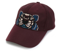Tiger embroidered cap