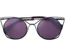 Cat-Eye-Sonnenbrille - women - Acetat/metal