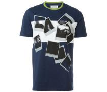 T-Shirt mit Polaroid-Print