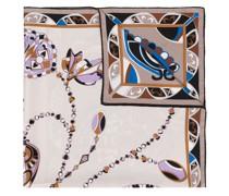 Schal mit abstraktem Blumen-Print