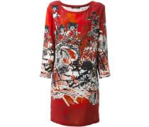 Seidenkleid mit Print - women - Seide - 40