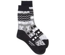 Socken mit Print - women - Nylon - Einheitsgröße