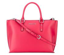 Handtasche mit Logo-Schild - women - PVC
