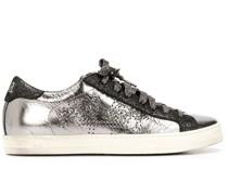 John Sneakers im Metallic-Look