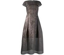 Kleid aus Organza-Cloqué