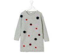 knitted pom-pom dress