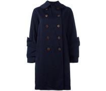 Mantel mit doppelter Knopfleiste - women