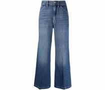 Halbhohe Le Baggy Wide-Leg-Jeans