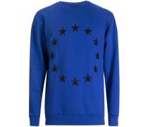 'Etoile' Sweatshirt mit Stickerei