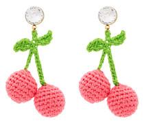 Ohrringe im Kirschen-Design