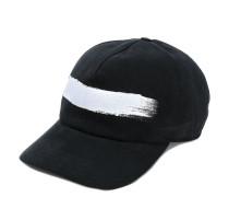 brush stroke print cap