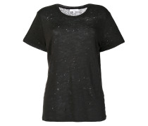T-Shirt in Distressed-Optik