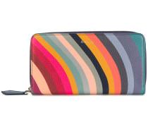 'Swirl' Portemonnaie mit Reißverschluss