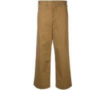 Klassische Hose mit hohem Bund