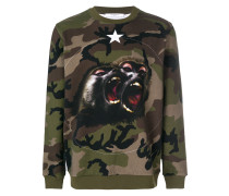 Monkey Brothers motif sweatshirt