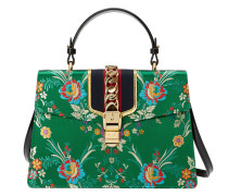 'Sylvie' Handtasche mit floralem Muster