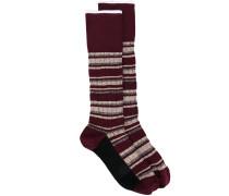 Gestreifte Socken - women - Baumwolle