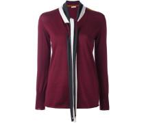 Pullover mit Schleifenkragen - women - Wolle - 8