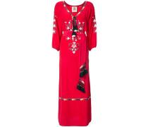 embroidered details dress