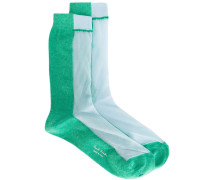 - Socken in Colour-Block-Optik - women