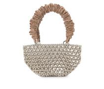 Handtasche mit Perlenstickerei